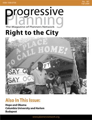 Progressive Planning Magazine Cover