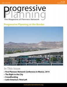 Summer 2014: Progressive Planning at the Border